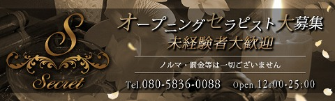 Secret〜シークレット 求人画像
