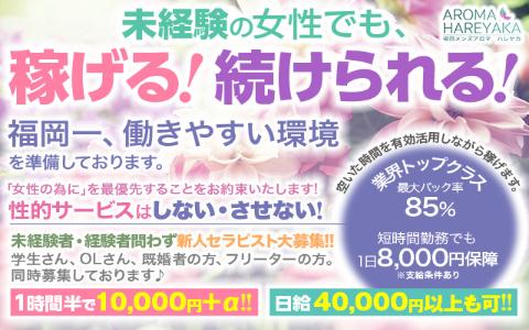 aroma hareyaka(アロマハレヤカ) 求人画像